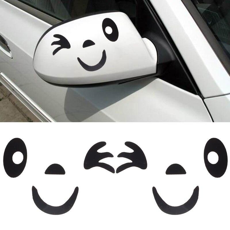 Personalized car stickers Autocollant de voiture f/ée Clochette dessin anim/é papillon petite princesse petite autocollant de voiture de r/éflecteur de f/ée csfssd Color : Black