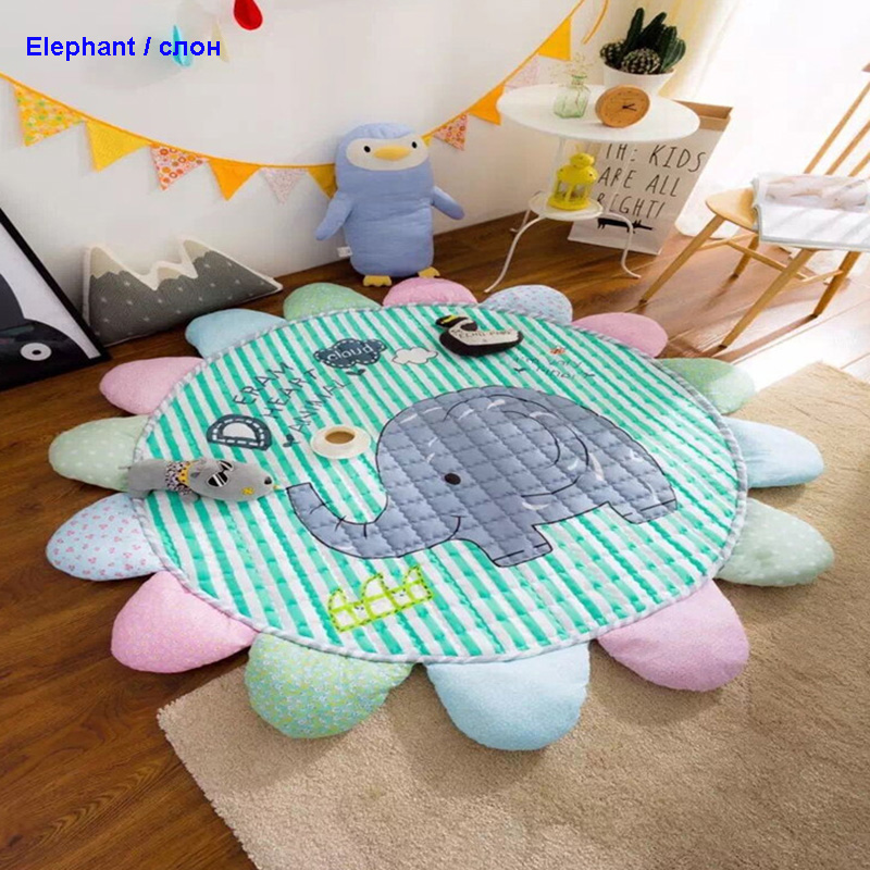 MoShuBe Baby Play Mats Gym Carpet Kids Rug Soft Floor