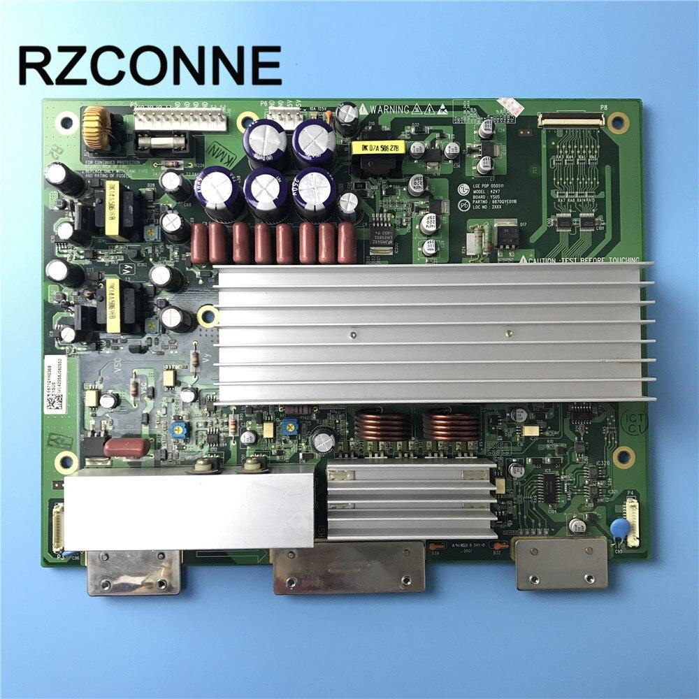 Power Board for LG 42V7 Y board 6871QYH045D 6870QYE111D used