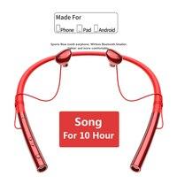 Sport Bluetooth Headset Earphone For Phone Earphones V5.0 Stereo Neckband Wireless Ear Phones For Samsung For iPhone Xiaomi Ear