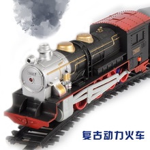 Hot Diy educational toys for children telectric toys assembled toy electric trains thomas train baby toy