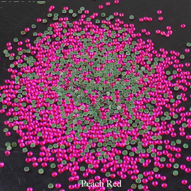 Strass di Cristallo Hotfix della Parte Posteriore Piana 1440 Misto Unghie artistiche Rhinestones di Vetro Rosa Pietre per I Vestiti Decorazione Del Telefono di DIY Applique E