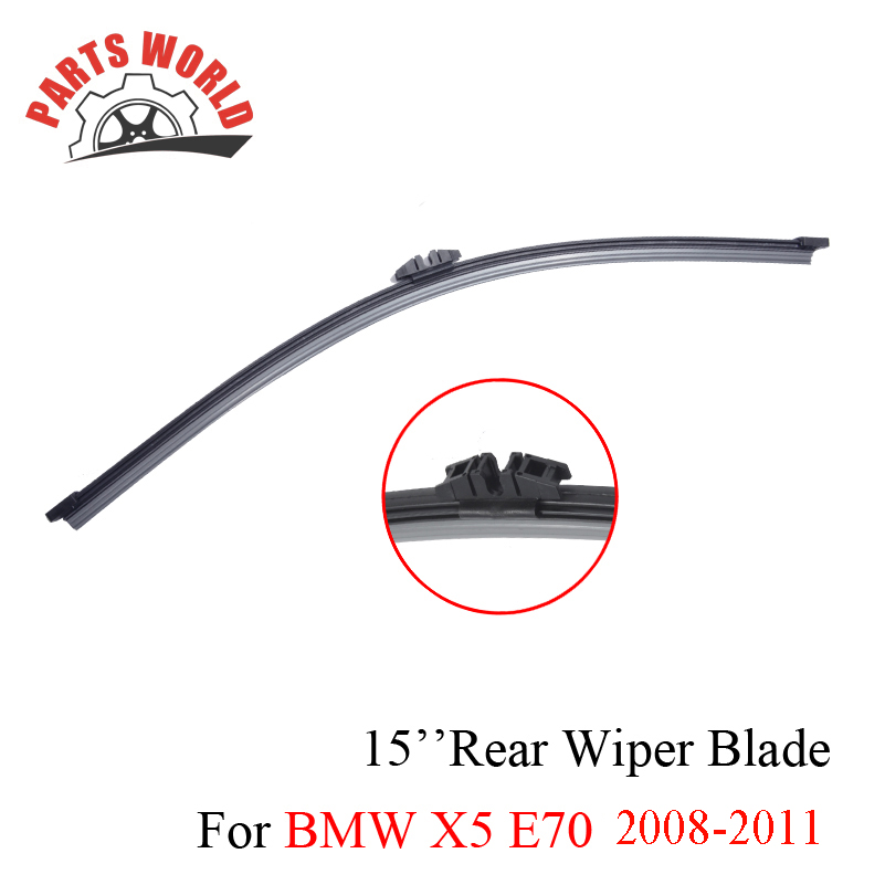 Combo Gumowe przednie i tylne wycieraczki do BMW X5 E70 2008-2011 - Części samochodowe - Zdjęcie 5