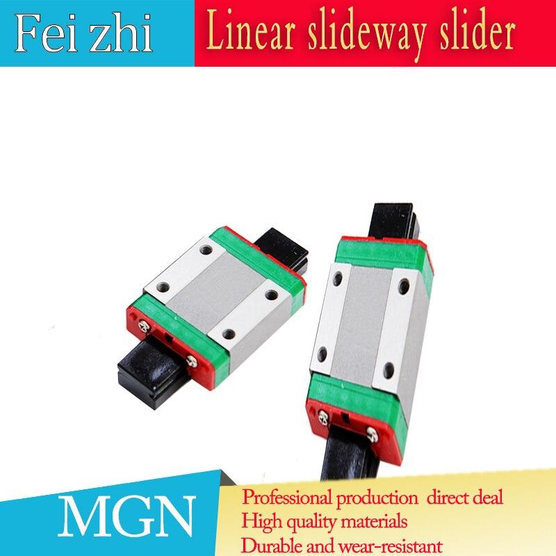 Freies verschiffen MGN12H MGN12C linear lager schiebe spiel verwendung mit MGN12 linear guide für cnc 3D drucker