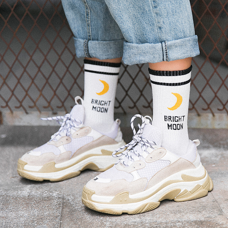 Women Girls Socks  High Quality Fashion 2019 Korean Style Women Harajuku Japanese Streetwear Girl Cotton Causal Socks