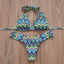 Halter Top Sexy Bikini set Women Swimsuit Brazilian Bikini 2016 Push Up Swimwear Bathing Suit Biquini Bikinis Women
