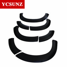 2016 fender flares For Isuzu mux 2015 Accessories black Mudguards For Isuzu mux 2014 Exterior parts Ycsunz