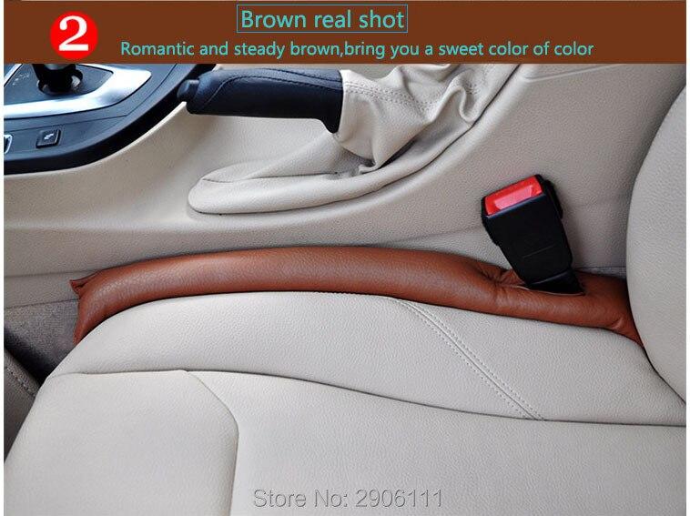 Автокресло GAP автомобилей герметичным Pad для VW гольф поло тигуан 7 4 6 Пассат В6 В5 В7 Туран Т5 автомобиля моделирование наклейки автомобиля-стайлинг