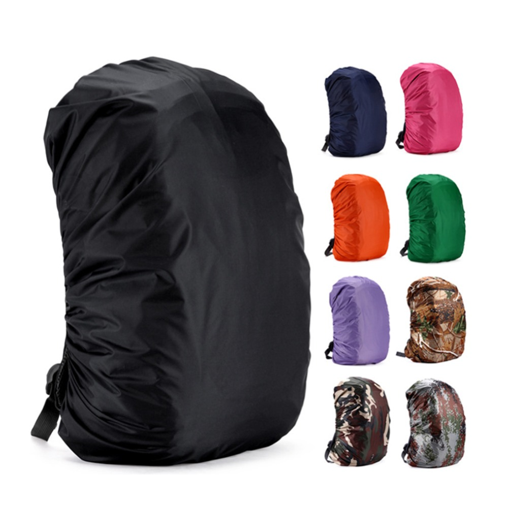 35L Portable Backpack Cover Waterproof Dust Rainproof Rain Cover Backpack Rucksack Bag For Travel Camping Outdoor Climbing