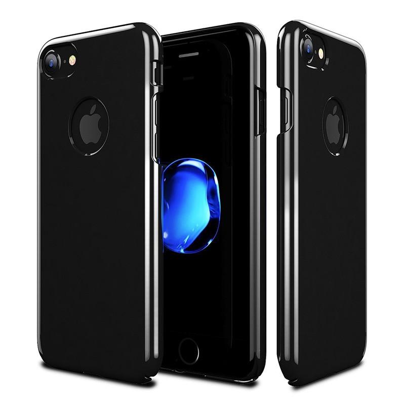 hollow design jet black case cover for iphone 6 6 plus ultra slim