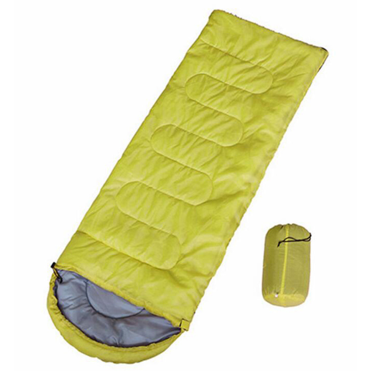 Image 4 - Campin Sleeping Bag 220 *75 Cm Cold proof Sleeping Bags Waterproof  Envelope Sleeping Bag Mat Outdoor Ultralight Thickened Mat-in Sleeping Bags from Sports & Entertainment