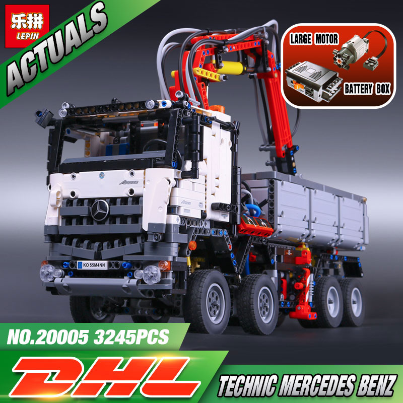 2793pcs NEW LEPIN 20005 technic series 42023 Arocs Model Building Block Bricks Compatible with Boys Toy Gift