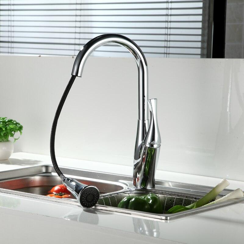 Kitchen Faucet Accessories ABS Chrome KS17001 Kitchen shower Pull ...