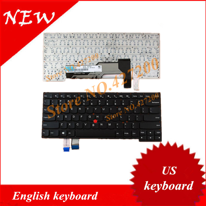 Prix pour Anglais clavier POUR Lenovo Thinkpad S3-S431 S3-S440 S431 S440 Avec Point bâton NOUS clavier