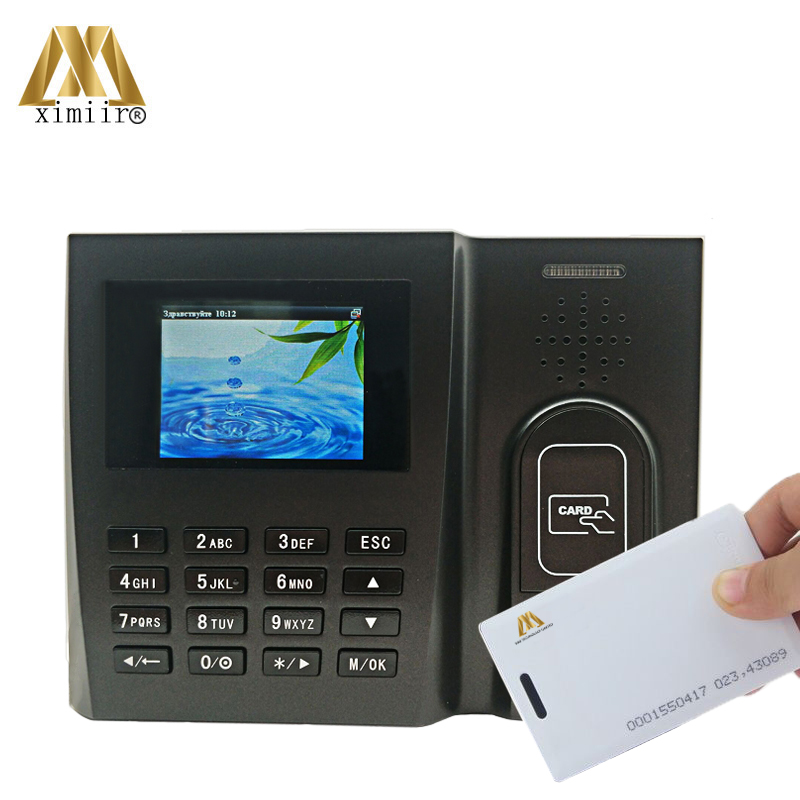Good Quality Biometric Time Attendance Machine With RFID Card MU260 Linux Time Clock System Free Software
