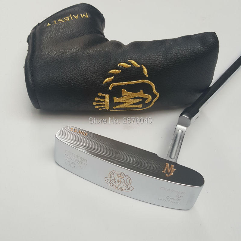 Golf putter 33 34 35 inch MARUMAN MAJESTY putter steel materials  push rod of the highest quality product free shipping 35 33