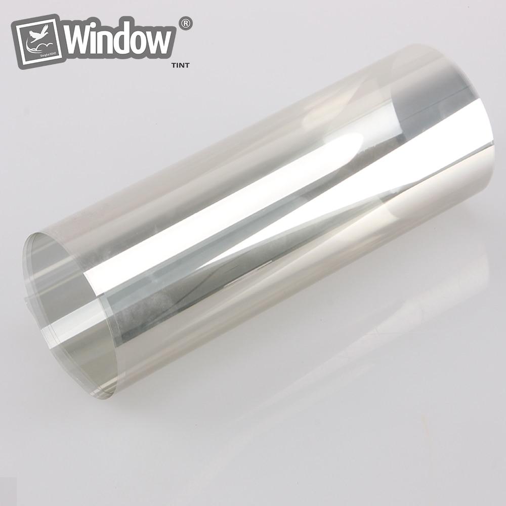 1.52*30 m rouleau entier Sputter Film solaire teinte 70% VLT 99% UV rejet fenêtre Film lumière or voiture véhicule fenêtre feuilles teinte Film