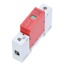 high quality  SPD 420V 30KA~60KA House Surge Protector Protective Low-voltage Arrester Device   1P цена в Москве и Питере
