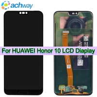 Black Original LCD Huawei Honor 10 LCD Display Touch Screen Digitizer Assembly Honor10 Replacement 2160*1080 huawei honor 10 LCD