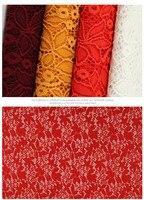 5 yardas Soft nylon Spandex estiramiento de la manera del cordón nuevo diseño floral del cordón 58
