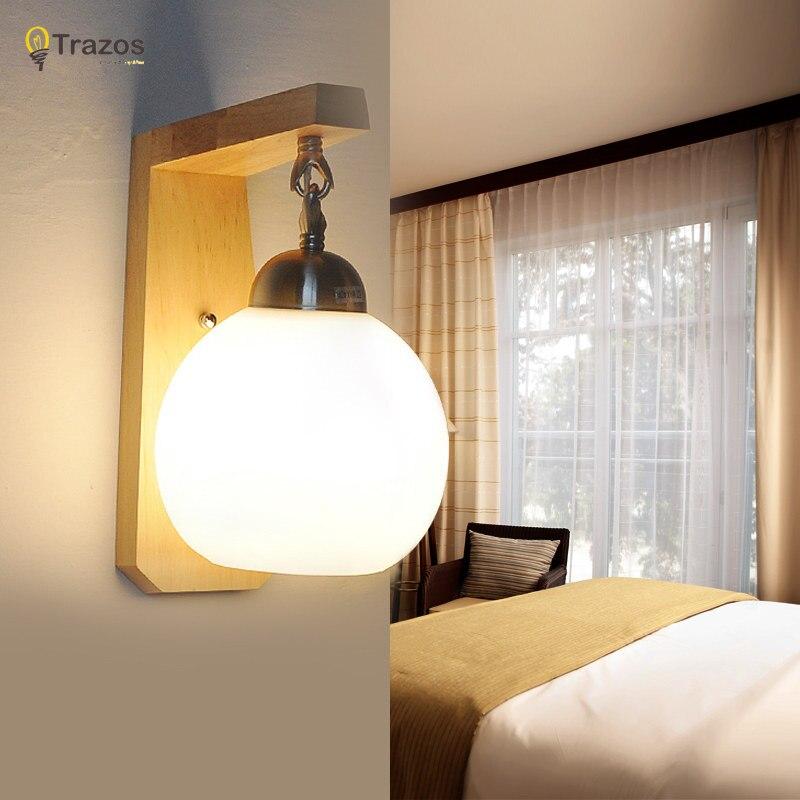 aliexpress.com : acquista quercia moderna lampada da parete in ... - Luci Per Camera Da Letto