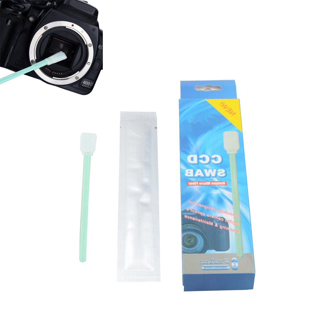 ALLOYSEED 6Pcs/Lot Camera Lens Cleaning Kit CCD CMOS Sensor Cotton Swab Stick...