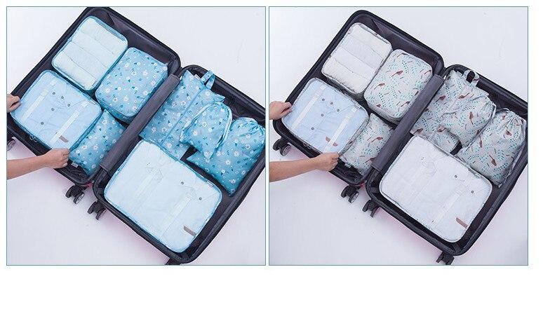 travel bag set 20