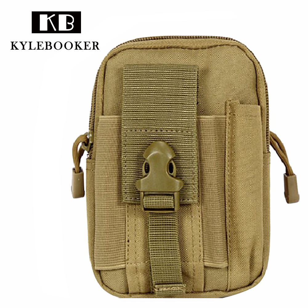 Kylebooker Tactical Molle Pouch Belt  Waist Bag Multifunction Military Fanny Pack Accessory Travel Hunting bags
