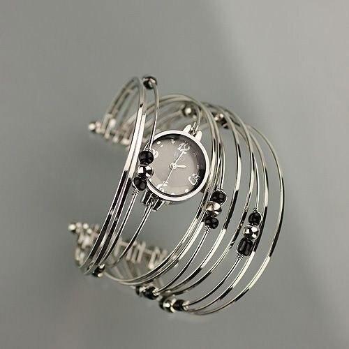 New Wrist Jewelry Bracelets Strap Ladies Watch Dress freeshi