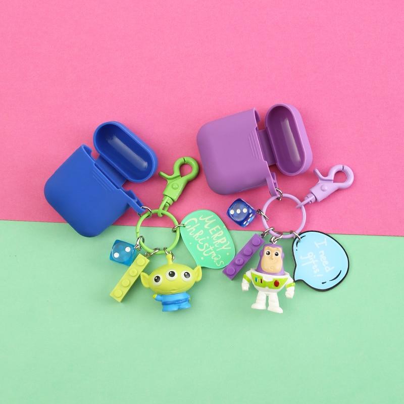 Cute Cartoon Decorative Silicone Case for Apple Airpods