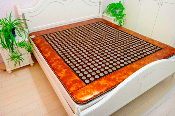 2016 Hot Sale Good Tourmaline Mattress Infrared Heating Jade Massage Mattress Heat AC220V Size: 1.2X1.9M ,Free shipping hot sale mattress electric heating jade massager mattress 2016 best selling tourmaline jade mattress for sale