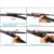 """Lâminas de limpador para volvo s60 (2004-2010) 24 """"+ 22"""" ajuste braços do limpador tipo pinch tab apenas hy-017"""