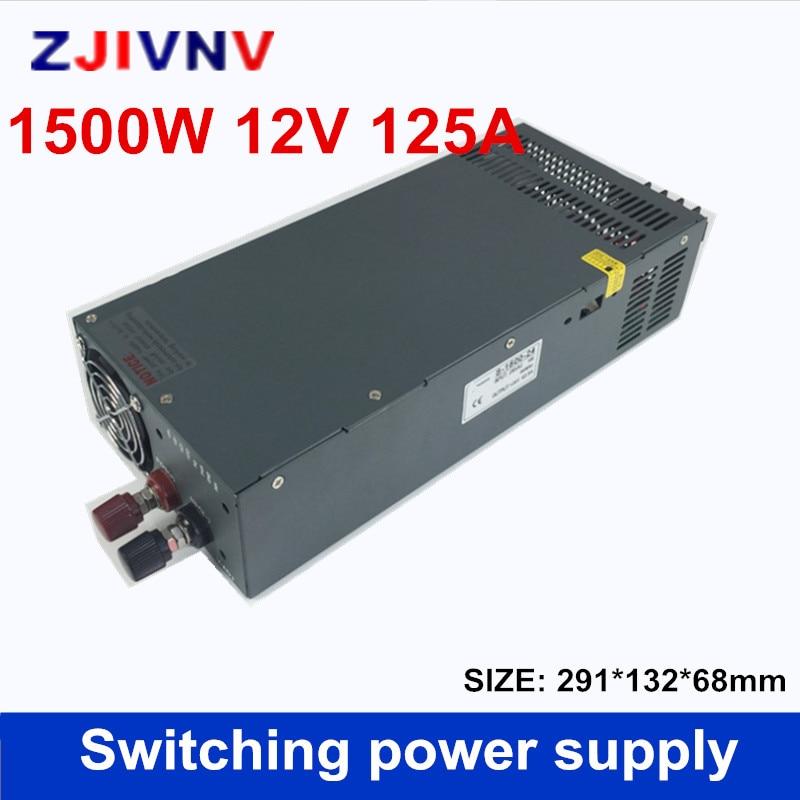 switching Power Supply DC 12V 125A Adapter Driver Transformer 110V or 220V AC DC12V bigger watt smps