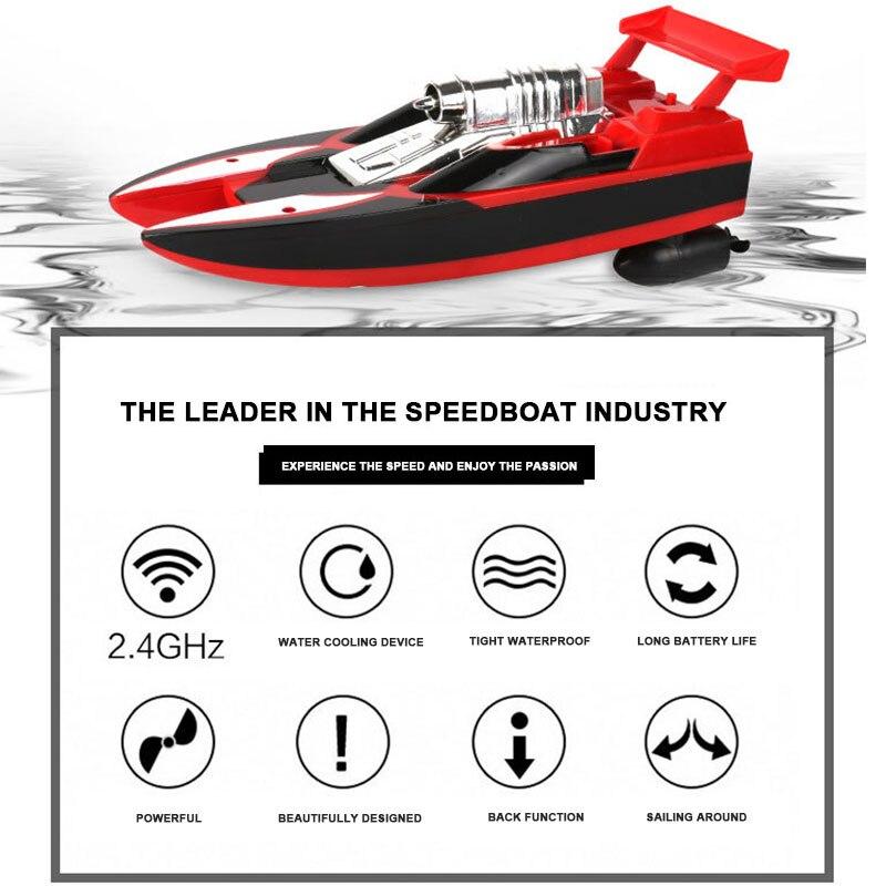 Скоростная лодка гоночная лодка многоцветная Rc пластиковая гоночная игрушка дистанционное управление лодка электрическая лодка скоростной катер р/у бассейн