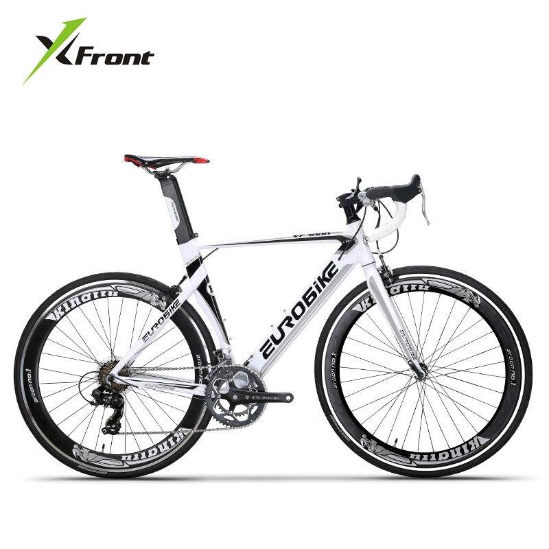 Nouvelle Marque Vélo De Route En Alliage D'aluminium Cadre 14/16 Changement de Vitesse Vélo Sports de Plein Air Cyclisme Course Bicicleta
