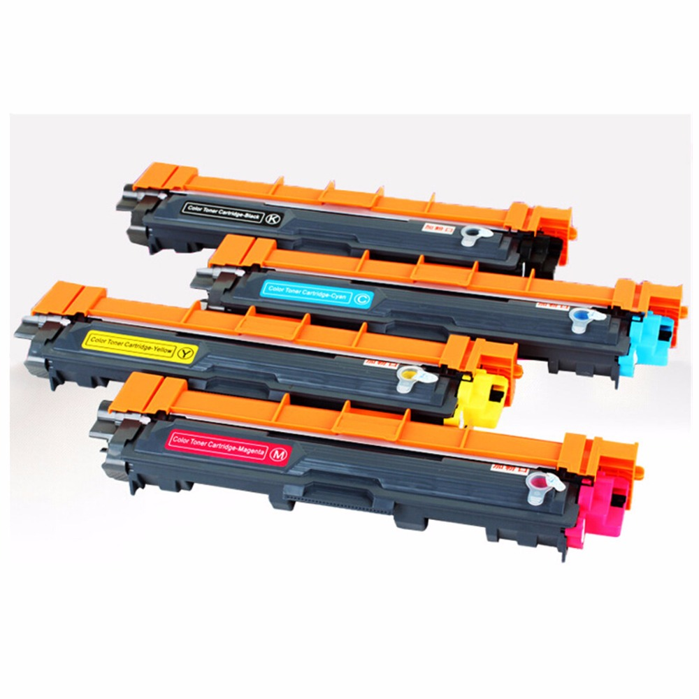 TN 221 241 251 261 281 291 Color Toner Cartridges Replacement For Brother MFC 9130 9140CDN