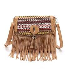 women messenger bags handbags women famous brands 2016 fringe tassel bag female bolsas de marca fashion cross body shoulder bag