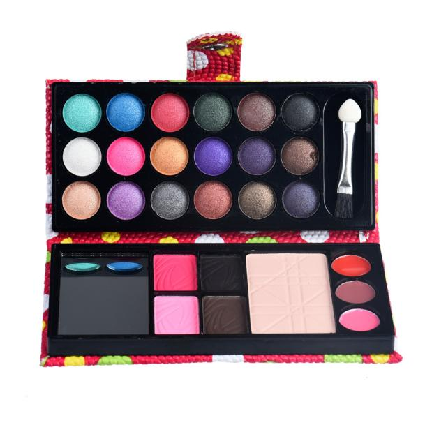 Beauty Essentials Fashion 26colors Eye Shadow Makeup Palette Cosmetic Eyeshadow Blush Lip Gloss Powder Eyebrow Powder Sealing Waterproof Cosmetic Eyebrow Enhancers
