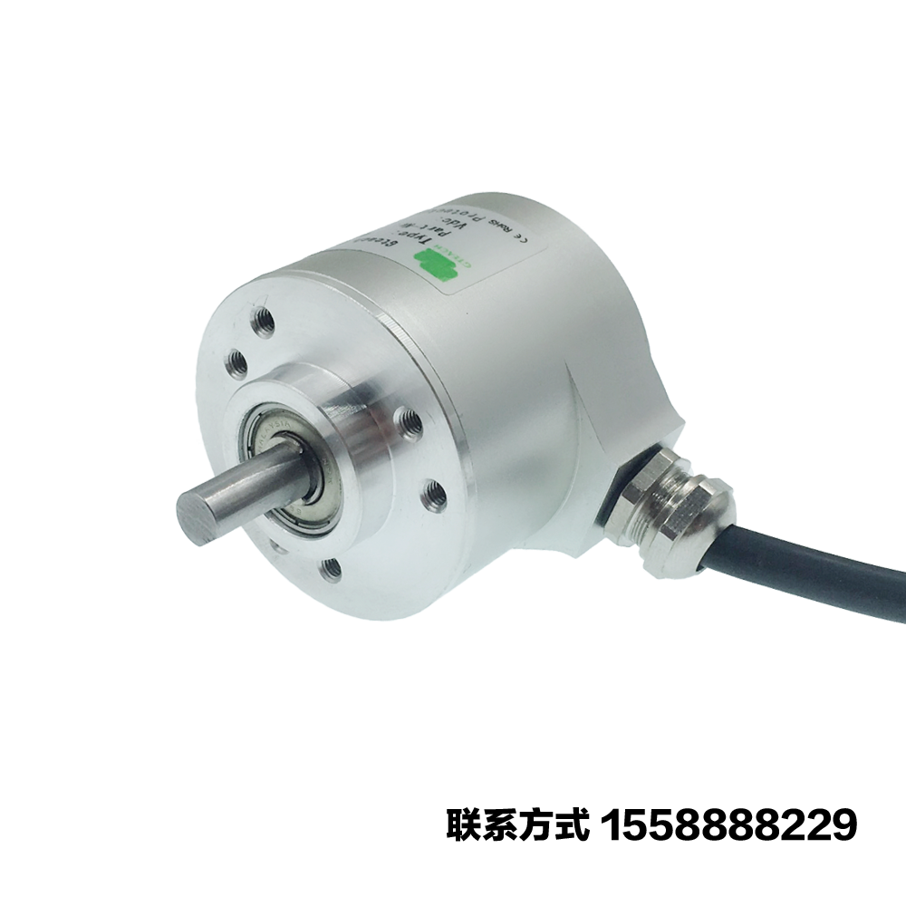 Anti-jamming 10-5000 Pulse Line ABZ Three-Phase Rotary Encoder with High Response Frequency and High PrecisionAnti-jamming 10-5000 Pulse Line ABZ Three-Phase Rotary Encoder with High Response Frequency and High Precision