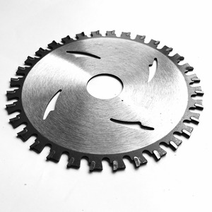 Image 3 - Free shipping of 1PC high quality aluminum cutting 105*1.5*20*32T  TCT saw blade for NF metal aluminum/iron profile cutting
