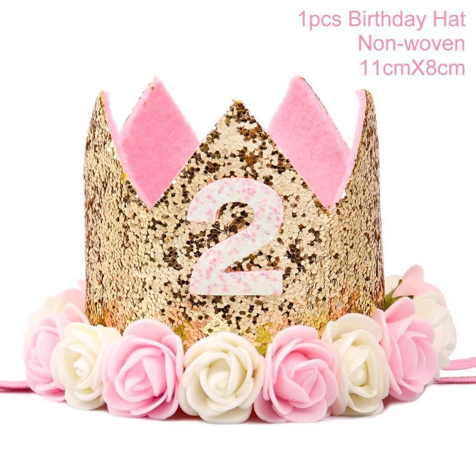 Awesome Patimate Pink Girl 2 Birthday Decoration Blue Boy My 2Nd Birthday Birthday Cards Printable Benkemecafe Filternl