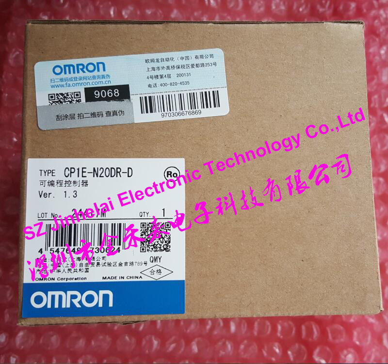 New and original CP1E-N20DR-D  OMRON  PLC controller cp1e n40dr d new and original omron plc controller