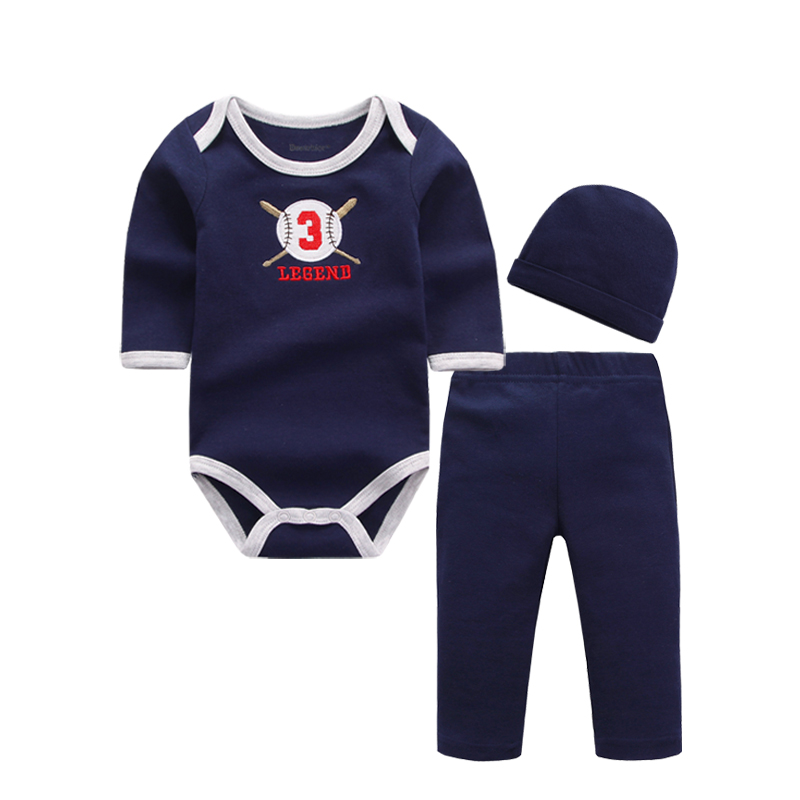 2017 Baby Boy Girls Clothes Set Cotton Roupa Infantil Long Sleeve Baby Clothes and Pants Newborn Baby Clothing Sets 2pcs set baby clothes set boy