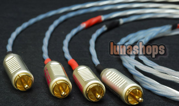 1.5m Acrolink 2 RCA AV Male To Male Audio Adapter Cable