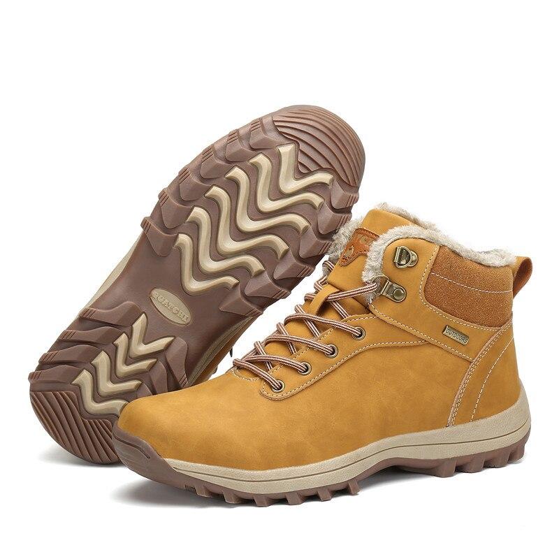 bed21bb254 Comprar Sapatos Casuais Homens Botas De Inverno Martin Bota Quentes ...