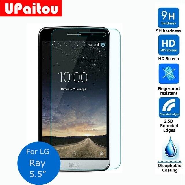 """UPaitou Schermo Protect Per LG Ray X190 Tempered Glass Screen Protector 2.5 9 h Sicurezza Pellicola Protettiva sulla Zona (5.5 """"pollici)"""