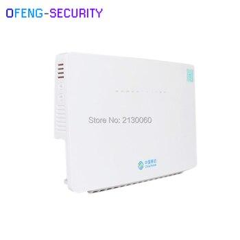 10 unids/lote ONT HS8546V HS 8546 V GPON Router FTTH GPON ONU 4GE 4 Port +  1TEL + 2USB + wifi