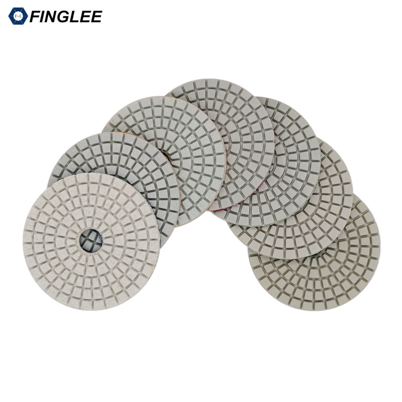 5 pz / lotto 3 pollici / 80 mm granito, marmo, cuscinetti di - Utensili elettrici - Fotografia 3