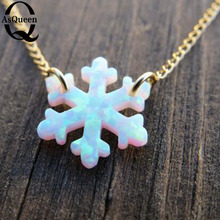 Light Necklace Snowflake For
