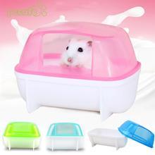 1 шт., маленькое животное, домашнее животное, хомяк, сауна, песок, ванна, ванная комната, туалет, пластиковый продукт для домашних животных, игрушка для хомяка, цвет случайный